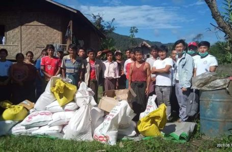 Rawang Youth Provide Aid to Flood Victims Neglected in Kachin State's Far North