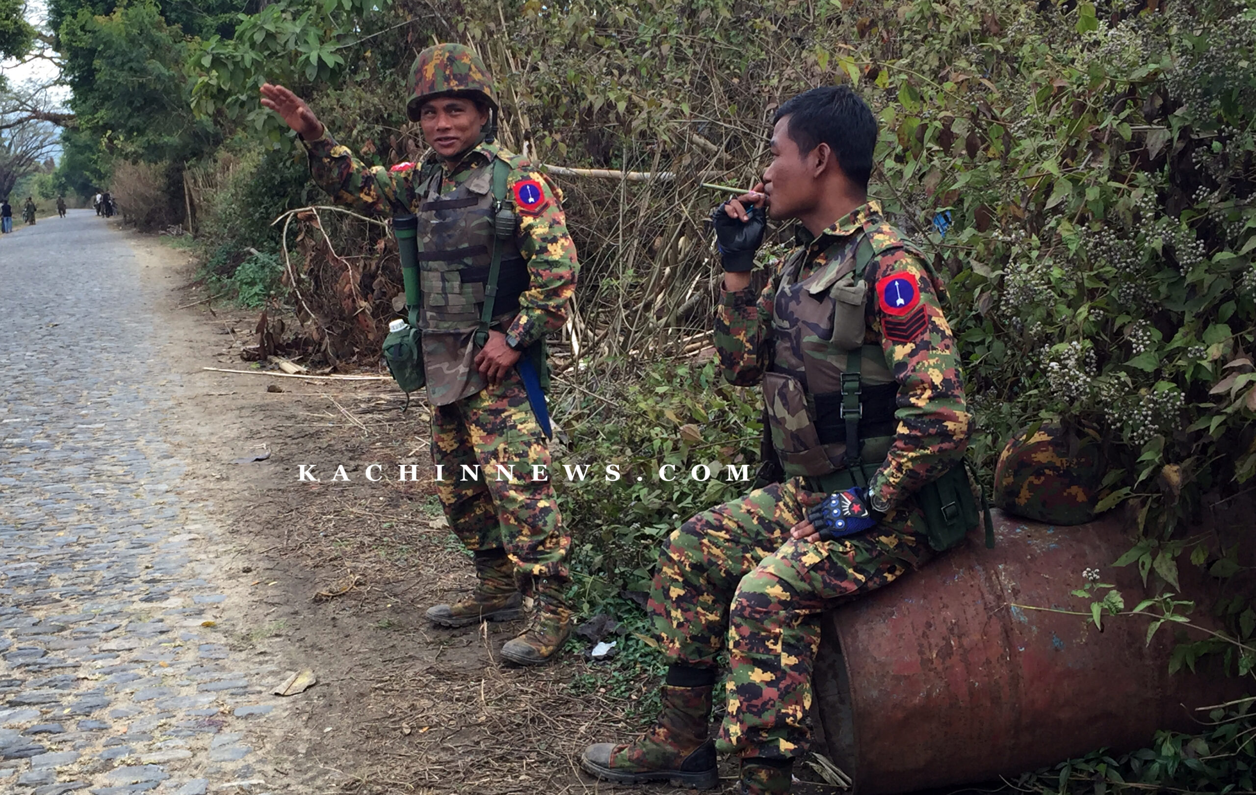 Junta Forces Use Youth As Human Shield In Hpakant Township